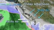 Play video: Winter Storm Warnings for parts of B.C.'s South Coast