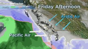 Winter Storm Warnings for parts of B.C.'s South Coast (03:12)