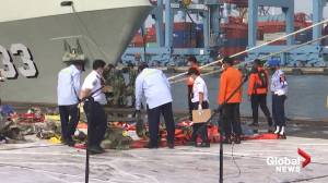 Indonesia stops search operation of airplane crash that killed 62 (00:55)
