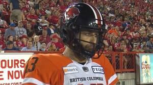 Michael Reilly BC Lions Quarterback (05:17)