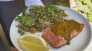 BBQ Tips: Grilled Salmon with Charmoula (05:28)