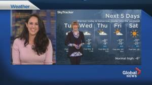 Global News Morning weather forecast: Tuesday January 26, 2021 (01:38)