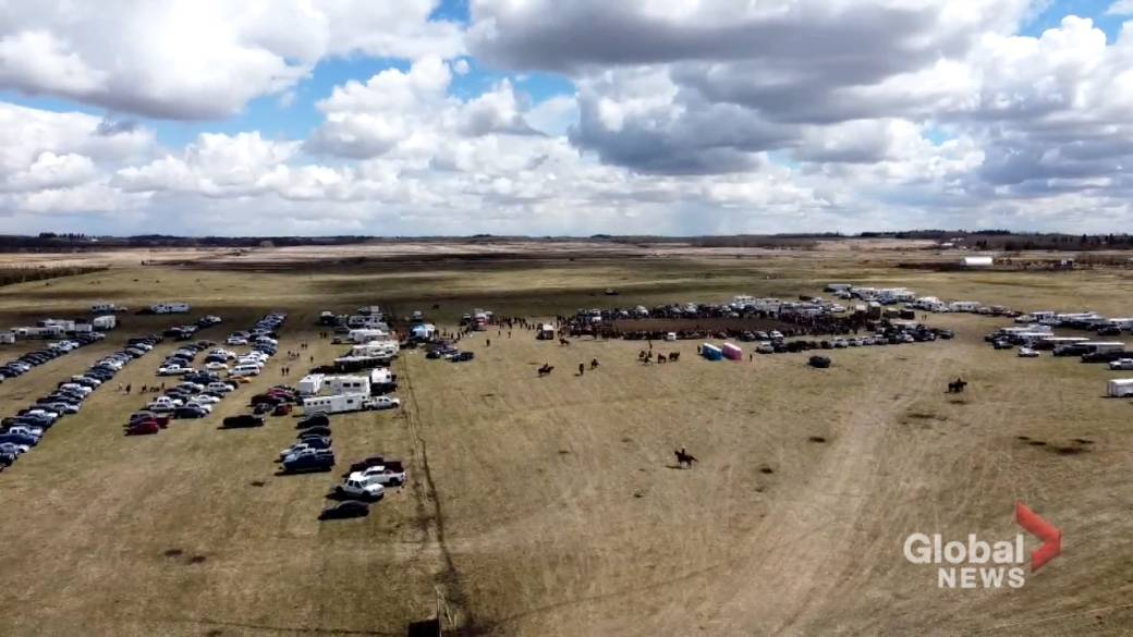 Click to play video: 'Alberta anti-lockdown rally worries live events industry about setbacks to future success'