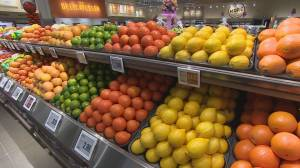 New study shows less than a third of Canadians buy enough fruits and vegetables everyday (06:10)