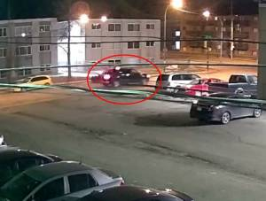 Video shows truck reportedly involved in Tanya Alcrow's shooting death (01:14)