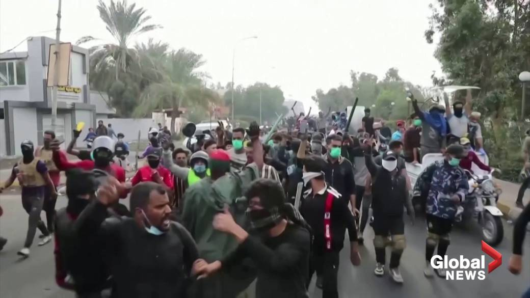25 dead, 130 wounded as violent protests continue in Iraq
