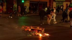 3 dead after supermarket set on fire during protests in Chile