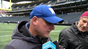 RAW: Blue Bombers Paul LaPolice Interview – Oct. 2