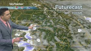 Kelowna Weather Forecast: October 22 (03:41)