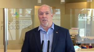 B.C. premier on need to review and update the 45-year-old Police Act