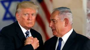 Trump considering possible defense treaty with Israel