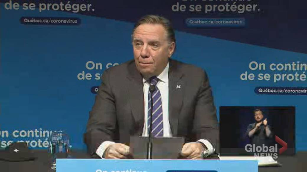 Click to play video: 'Quebec eases COVID-19 restrictions in some regions'