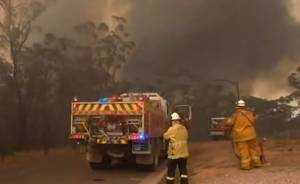 Manitoba firefighters help fight raging wildfires in Australia
