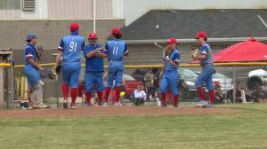 The Kingston baseball Colts are back on the field (01:49)