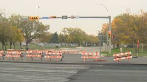 Regina construction season slowly coming to an end