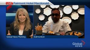 New executive chef and menus at Fairmont Hotel Macdonald (04:20)