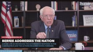 Coronavirus outbreak: Sanders calls for Medicare coverage for all Americans during COVID-19 pandemic