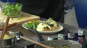 Chef's Challenge: Adam Stoyko's mushroom eggs Florentine and side breakfast salad (19:07)