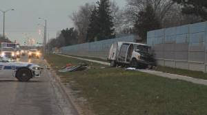 SIU investigating crash after police pursuit in Brampton (01:28)