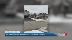 Gas line explosion destroys Guelph home