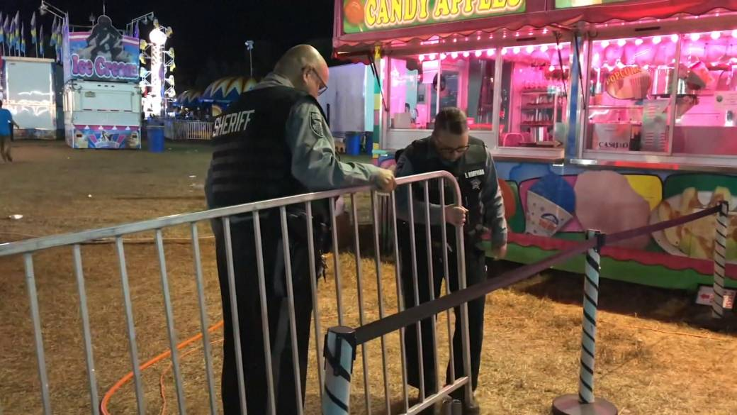 Young girl dies after being ejected from a ride at a New Jersey harvest festival
