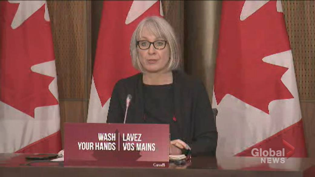 Click to play video 'Coronavirus: Johnson & Johnson applied for vaccine approval for Health Canada, minister says'