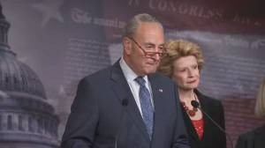 Schumer says McConnell trying to rush Trump impeachment trial