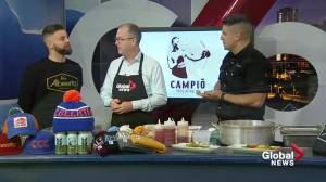 Campio Brewing Co in the Global Edmonton kitchen