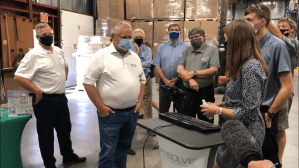 Premier Ford visits Peterborough company and Bobcaygeon's Kawartha Dairy on Thursday