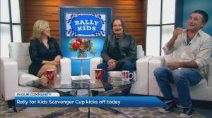 Rally for Kids Scavenger Cup kicks off today