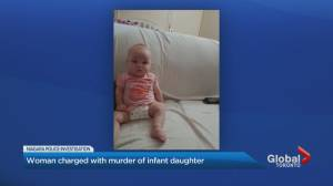 Niagara Region mom charged with baby girl's murder