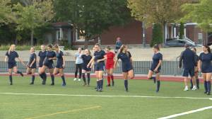 The Queen's soccer Gaels look to upset Ottawa, the number one ranked team in Canada