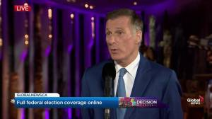 Leaders' Debate: Bernier says he's a voice for Canadians who want 'fewer immigrants'