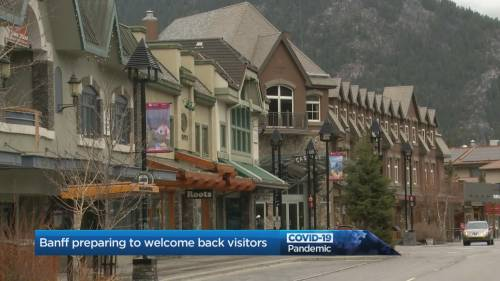 Banff's mayor discusses relaunch strategy | Watch News Videos Online
