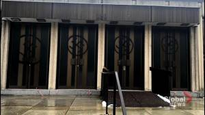 Westmount community outraged over vandalized synagogue (02:04)
