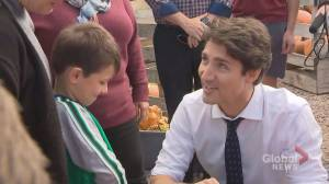 Justin Trudeau stops in New Brunswick as election campaign continues