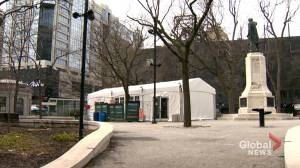 Warming tent at Cabot Square granted extension (02:03)