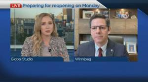 Mayor Brian Bowman on reopening plan (04:54)
