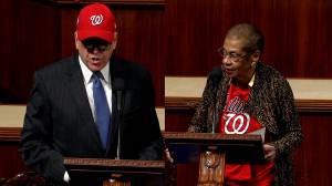U.S. politicians commend Washington Nationals on 'historic' win
