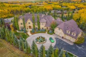 $15M mansion west of Calgary to hit auction in November (02:06)