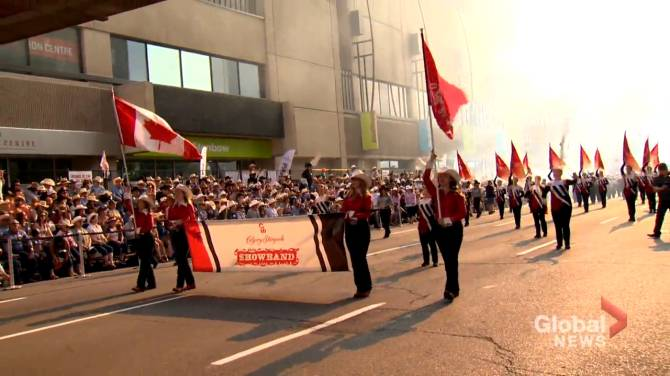 Click to play video: Calgary Stampede to hold mini-parade