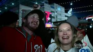 Former Montrealer celebrates Washington Nationals' league win