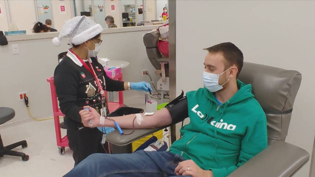 Click to play video: 'Blood donation recommendations amid COVID-19 vaccinations'