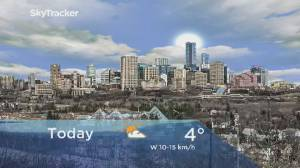Edmonton early morning weather forecast: Wednesday, February 26, 2020