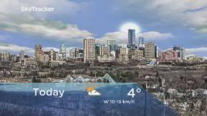 Edmonton early morning weather forecast: Wednesday, February 26, 2020