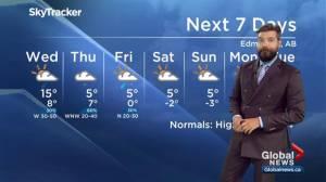 Global Edmonton weather forecast: Sept. 24