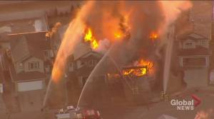 1 home destroyed, others damaged in northeast Edmonton fire (05:12)