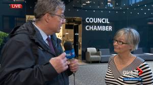 Druh Farrell talks about notice of motion to remove lead pipes in Calgary