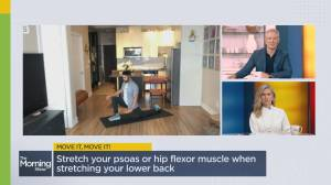 Easy stretches to start your day off right (02:44)