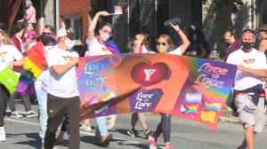 Kingston celebrates first in-person Pride parade since the pandemic (01:43)